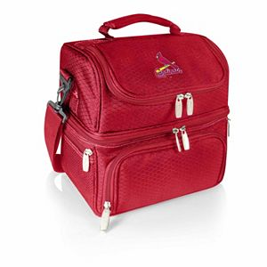 Picnic Time St. Louis Cardinals Pranzo 7-Piece Insulated Cooler Lunch Tote Set