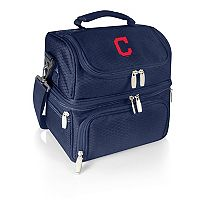 Picnic Time Cleveland Indians Pranzo 7 pc Insulated Cooler Lunch Tote Set