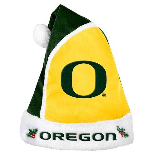 Adult Oregon Ducks Santa Hat