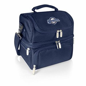Picnic Time Milwaukee Brewers Pranzo 7-Piece Insulated Cooler Lunch Tote Set