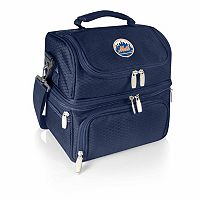 Picnic Time New York Mets Pranzo 7-Piece Insulated Cooler Lunch Tote Set