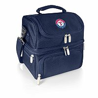 Picnic Time Texas Rangers Pranzo 7 pc Insulated Cooler Lunch Tote Set