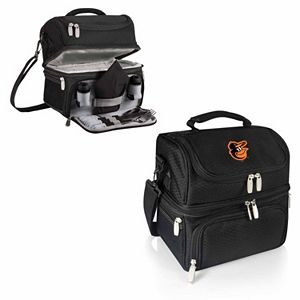 Picnic Time Baltimore Orioles Pranzo 7-Piece Insulated Cooler Lunch Tote Set