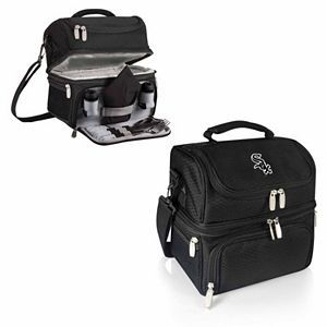 Picnic Time Chicago White Sox Pranzo 7-Piece Insulated Cooler Lunch Tote Set