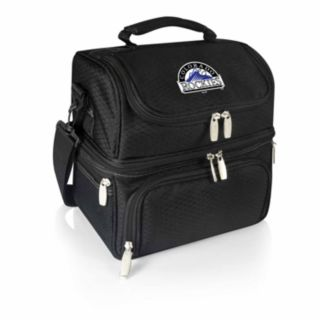 Picnic Time Colorado Rockies Pranzo 7-Piece Insulated Cooler Lunch Tote Set