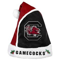 Adult South Carolina Gamecocks Santa Hat