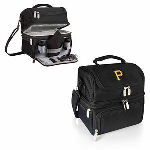 Picnic Time Pittsburgh Pirates Pranzo 7-Piece Insulated Cooler Lunch Tote Set