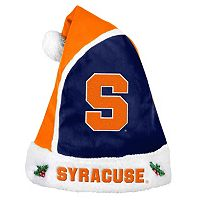 Adult Syracuse Orange Santa Hat