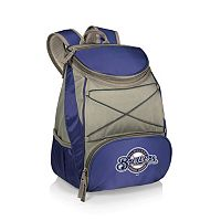 Picnic Time Milwaukee Brewers PTX Backpack Cooler