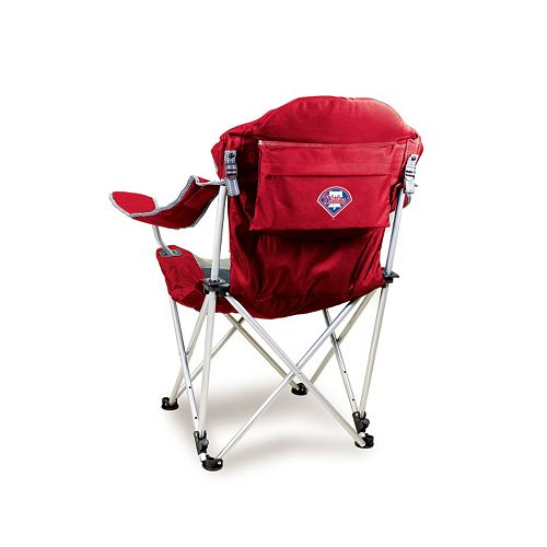 Picnic Time Philadelphia Phillies Reclining Camp Chair
