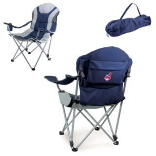 Picnic Time Cleveland Indians Reclining Camp Chair