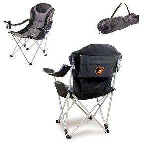 Picnic Time Baltimore Orioles Reclining Camp Chair