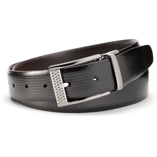 Big & Tall Grand Slam Textured Reversible Golf Belt