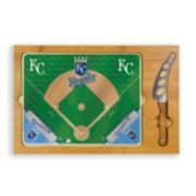 Picnic Time Kansas City Royals Icon Rectangular Cutting Board Gift Set