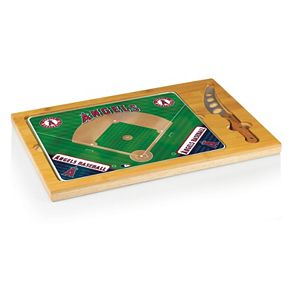 Picnic Time Los Angeles Angels of Anaheim Icon Rectangular Cutting Board Gift Set