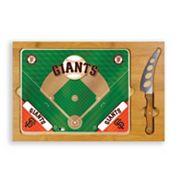 Picnic Time San Francisco Giants Icon Rectangular Cutting Board Gift Set