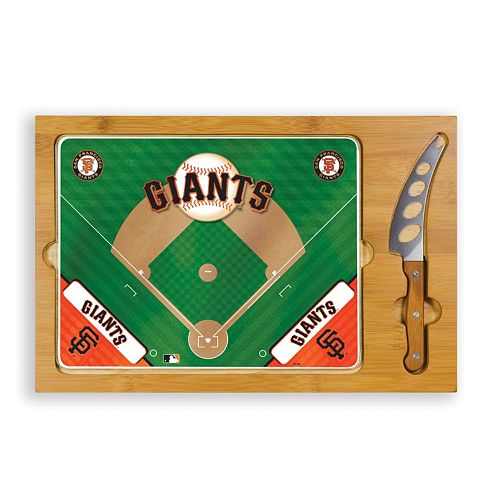 Picnic Time San Francisco Giants Icon Rectangular Cutting Board Gift Set