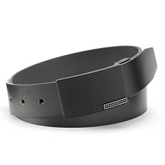 Big & Tall Grand Slam Black Reversible Plaque Golf Belt