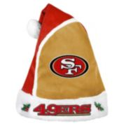 Adult San Francisco 49ers Santa Hat