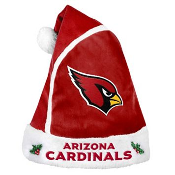 Adult Arizona Cardinals Santa Hat