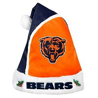 Adult Chicago Bears Santa Hat