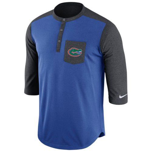 Men's Nike Florida Gators Dri-FIT Touch Henley
