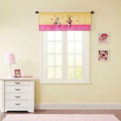 Mi Zone Kids Monkey Madness Window Valance - 50'' x 18''