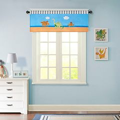 Mi Zone Kids Daring Dino Window Valance - 50'' x 18''