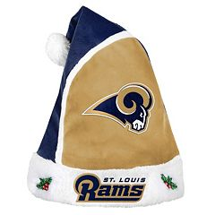 Adult St. Louis Rams Santa Hat