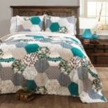 Lush Decor Briley 3 pc Quilt Set