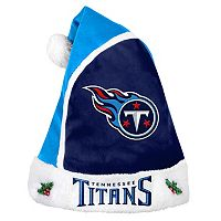Adult Tennessee Titans Santa Hat