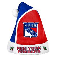 Adult New York Rangers Santa Hat