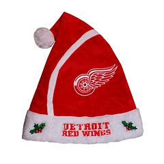 Adult Detroit Red Wings Santa Hat
