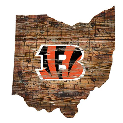 Cincinnati Bengals Distressed 24
