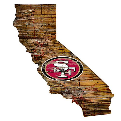 San Francisco 49ers Distressed 24