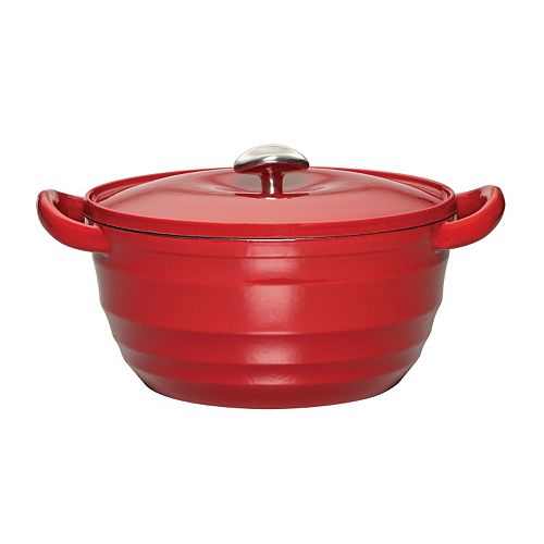 Mikasa Gourmet Basics Countryside 5.5-qt. Enameled Cast-Iron Dutch Oven
