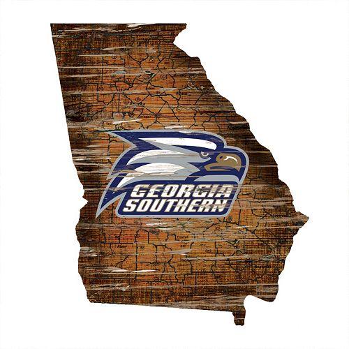 Georgia Southern Eagles Distressed 24