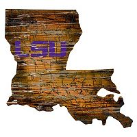 LSU Tigers Distressed 24