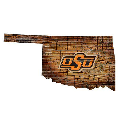 Oklahoma State Cowboys Distressed 24