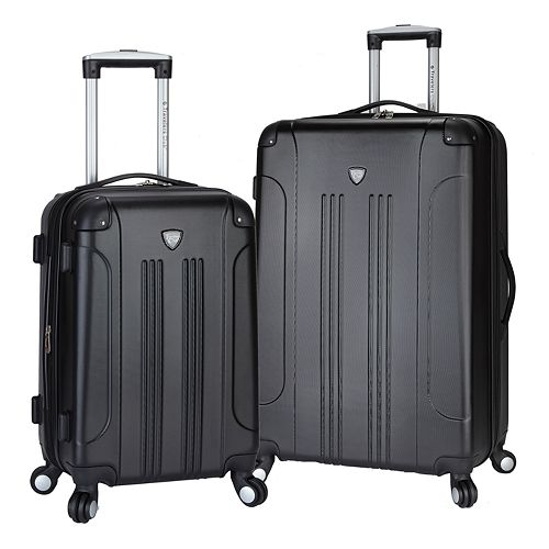 Travelers Club Luggage Chicago 2-piece Luggage Set