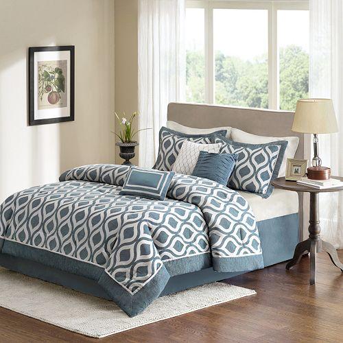 Madison Park Bergamo 7-piece Bed Set