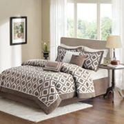 Madison Park Bergamo 7 pc Bed Set