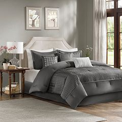 Madison Park Curtis 7 pc Bed Set