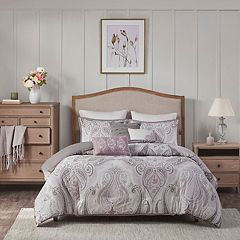 Madison Park Yasmin 6-piece Duvet Cover Set