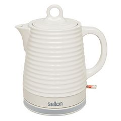 Salton 1.2-Liter Ceramic Electric Teakettle