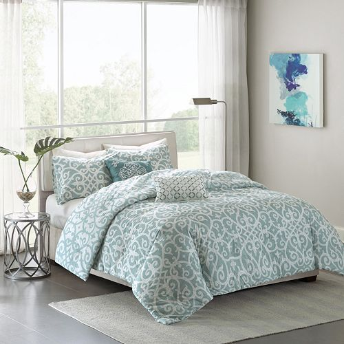 Madison Park Pure Lucia 5-piece Bed Set