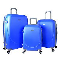 Travelers Club Barnet 2.0 3-Piece Hardside Spinner Luggage Set
