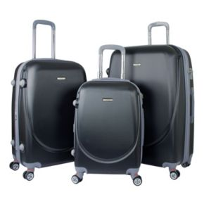 TPRC Barnet 2.0 3-Piece Hardside Expandable Dual Spinner Luggage Set