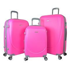 Travelers Club Barnet 2.0 3 pc Hardside Spinner Luggage Set