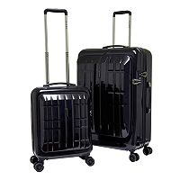 Travelers Club Flex-File 2-Piece Hardside Spinner Luggage Set
